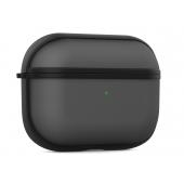 Husa TPU NEVOX StyleShell Invisio pentru Airpods Pro, Neagra - Transparenta, Blister