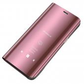 Husa Plastic OEM Clear View pentru Xiaomi Redmi 8, Roz, Blister