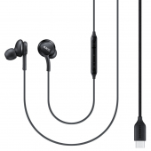 Handsfree Casti In-Ear Samsung EO-IC100, Cu microfon, USB Type-C, Negru EO-IC100BBEGEU