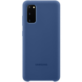 Husa TPU Samsung Galaxy S20 G980 / Samsung Galaxy S20 5G G981, Bleumarin, Blister EF-PG980TNEGEU
