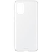 Husa TPU Samsung Galaxy S20 Plus G985 / Samsung Galaxy S20 Plus 5G G986, Clear Cover, Transparenta, Blister EF-QG985TTEGEU