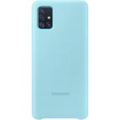 Husa TPU Samsung Galaxy A71 A715, Bleu, Blister EF-PA715TLEGEU