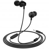 Handsfree Casti In-Ear HOCO M60 Perfect sound, Cu microfon, 3.5 mm, Negru