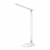 Lampa LED Baseus ACLT-B02, Lumina 3D Omnidirectionala, Incarcare Wireless 10W + USB, Alba, Blister ACLT-B02