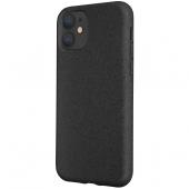 Husa Biodegradabila Forever Bioio pentru Apple iPhone 11, Neagra, Blister