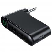 Receptor / Transmitator Audio Bluetooth  BASEUS WXQY-01, cu buton apel, Negru Blister