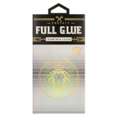 Folie Protectie Ecran OEM pentru Apple iPhone 11 Pro Max, Sticla securizata, Full Glue, HARD 5D, Neagra, Blister