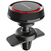 Suport Auto Universal Borofone BH12 Journey Air outlet, Magnetic, Negru - Rosu, Blister