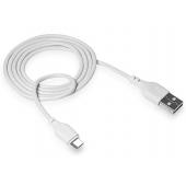 Cablu Date si Incarcare USB la MicroUSB XO Design NB103, 2,1A, 2 m, Alb
