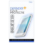 Folie Protectie Ecran Defender+ pentru Motorola One Vision, Plastic, Full Face, Blister