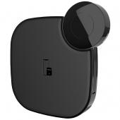 Incarcator Retea Wireless HOCO S5, 10W Rich power, 2in1, Negru, Blister