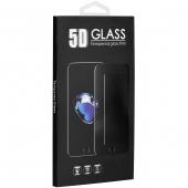 Folie Protectie Ecran OEM pentru Samsung Galaxy A20e, Sticla securizata, Full Face, Full Glue, 0.3mm, 5D, Neagra, Blister