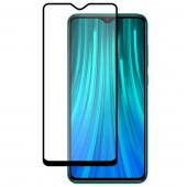 Folie Protectie Ecran WZK pentru Xiaomi Redmi Note 8 Pro, Sticla Flexibila, Full Cover, Full Glue, Nano Hybrid, Neagra, Blister