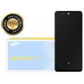 Display - Touchscreen Cu Rama Negru Samsung Galaxy A71 A715 GH82-22152A