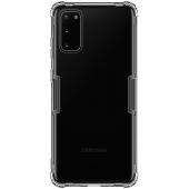 Husa TPU Nillkin Nature pentru Samsung Galaxy S20 G980 / Samsung Galaxy S20 5G G981, Gri, Blister