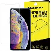 Folie Protectie Ecran WZK pentru Apple iPhone XS Max, Sticla securizata, 9H, Blister