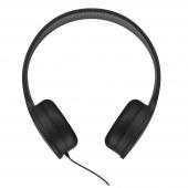 Handsfree Casti Over-Ear WK-Design M3, Cu microfon, 3.5 mm, Negru, Blister