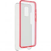 Husa Plastic - TPU OEM Full Cover pentru Samsung Galaxy A51 A515, Rosie, Bulk