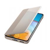 Husa Huawei P40, Smart View Flip, Kaki, Blister 51993705