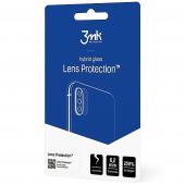 Folie Protectie Camera spate 3MK pentru Huawei P40 Pro, Plastic, 0.2mm, Set 4 buc, Blister
