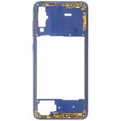 Carcasa Mijloc Samsung Galaxy A70 A705, Albastra