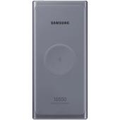 Baterie Externa Powerbank Samsung EB-U3300, 10000 mA, Power Delivery (PD)- Fast Wireless, 25W, 2 x USB Type-C - Wireless, Gri EB-U3300XJEGEU