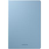 Husa Tableta Piele Samsung Galaxy Tab S6 Lite, Albastra EF-BP610PLEGEU