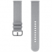 Curea Ceas Kvadrat Band pentru Samsung Galaxy Watch Active2, 20 mm, Gri, Blister ET-SKR82MJEGEU