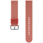 Curea Ceas Kvadrat Band pentru Samsung Galaxy Watch Active2, 20 mm, Rosie, Blister ET-SKR82MREGEU