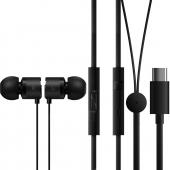 Handsfree Casti In-Ear OnePlus Bullets BE02T, Cu microfon, USB Type-C, Negru, Blister 1091100041