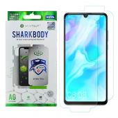 Folie Protectie Fata si Spate OEM pentru Huawei P30 lite, Plastic, Full Cover, Full Glue, Shark antibacterial