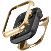 Husa Protectie Ceas Ringke FULL FRAME pentru APPLE WATCH 4/5 (44MM), Auriu, Blister FFAP0002