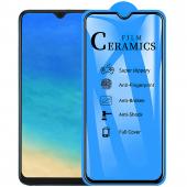 Folie Protectie Ecran OEM pentru Samsung Galaxy A40 A405, Plastic, Full Cover, Full Glue, 2.5D, Blister
