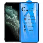 Folie Protectie Ecran OEM pentru Apple iPhone X / Apple iPhone XS, Plastic, Full Face, Full Glue, 2.5D, Blister