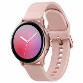 Ceas Bluetooth Samsung Galaxy Watch Active2, Aluminium 40mm, Roz Auriu, Blister Original SM-R830NZDAROM Resigilat