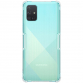 Husa TPU Nillkin Nature pentru Samsung Galaxy A71 A715, Transparenta, Blister
