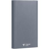 Baterie Externa Powerbank FreeNet, 12000 mA, 1 x USB - 1 x USB Type-C, Gri, Blister