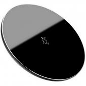 Incarcator Retea Wireless Baseus Simple 15W, Negru, Blister