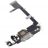 Banda Cu Conector Incarcare / Date - Microfon Argintiu Apple iPhone 11 Pro
