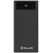 Baterie Externa Powerbank Tellur PD200, 20000 mA, Power Delivery (PD) - Quick Charge 3, Neagra TLL158241