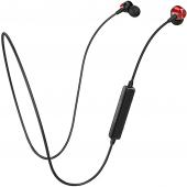 Handsfree Casti Bluetooth Borofone Sport JoyMove BE18, SinglePoint, Negru-Rosu