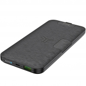 Baterie Externa Powerbank HOCO Energy LAKE S16, 10000 mA, Power Delivery (PD) - Quick Charge 3 - Fast Wireless, Neagra, Blister