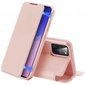 Husa Piele DUX DUCIS Skin X pentru Samsung Galaxy S10 Lite G770, Roz, Blister