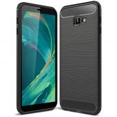 Husa TPU Forcell Carbon pentru Samsung Galaxy J4 Plus (2018) J415, Neagra, Bulk