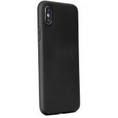 Husa TPU Forcell Soft pentru Samsung Galaxy A70 A705 / Samsung Galaxy A70s, Neagra, Bulk