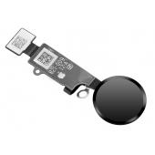 Ornament Buton Meniu Apple iPhone 8 / Apple iPhone 8 Plus / Apple iPhone 7, Negru