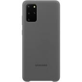 Husa TPU Samsung Galaxy S20 Plus G985 / Samsung Galaxy S20 Plus 5G G986, Gri, Blister EF-PG985TJEGEU