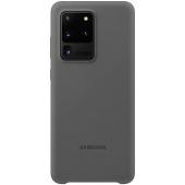 Husa TPU Samsung Galaxy S20 Ultra G988 / Samsung Galaxy S20 Ultra 5G G988, Gri, Blister EF-PG988TJEGEU