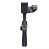 Stabilizator Gimbal Telefon Baseus BC01, 3-Axe, Butoane control, Gri, Blister SUYT-0G