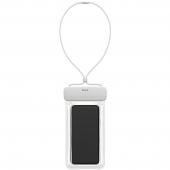 Husa TPU Baseus Universala Waterproof pentru Telefon IPX8, 7.2 inci, Alba, Blister  ACFSD-D02